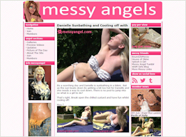 Join in the fun with our Messy Angels